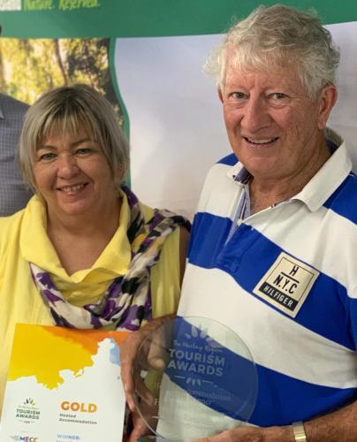 Judy at the Mackay Region Tourism Awards 2016