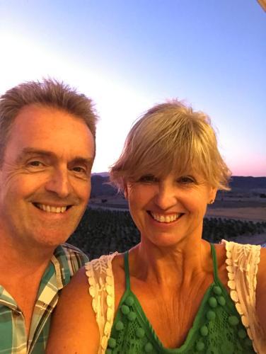Lesley-Ann and Mark Simmonds