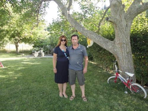 THE OWNERS ,NIKI AND HER HUSBAND DIMITRIS