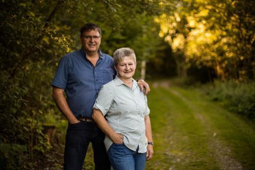 Christiane und Peter