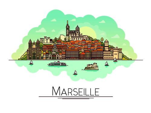 Marseill Belle de Mai Appartemets