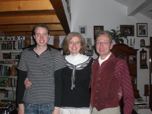 Christian, Beate, Heinz-Juergen Hillner