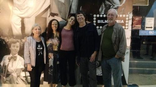 Allan, Miria, Vilma e Silas