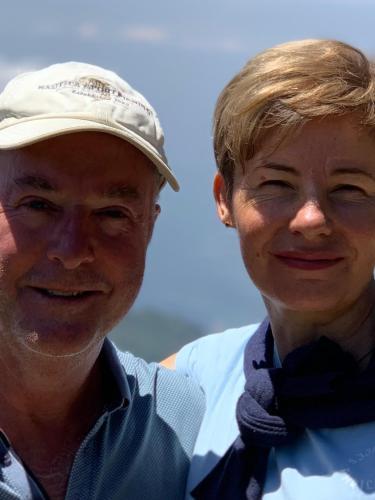 Steve Brown & Caroline Veldhuizen
