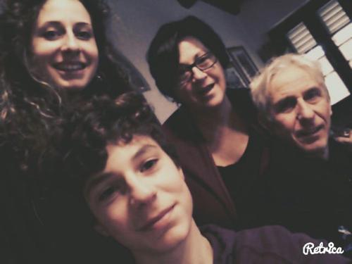Sandra e famiglia