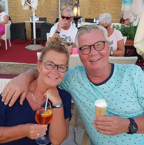 Ed Vermeer en vriendin