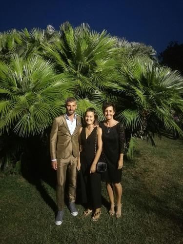 Marco, Alessandra e Matilde