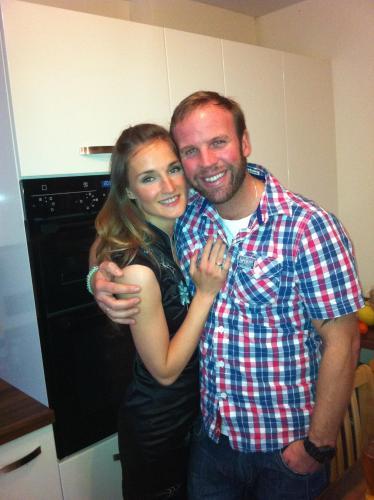 Wayne and Eva