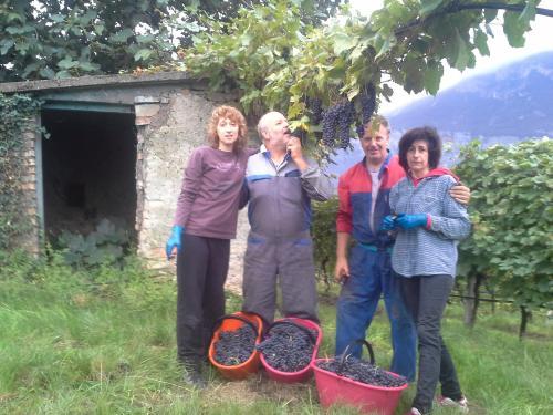 Famiglie Franch: Beniamino e Vilma, Gianni e Nadia