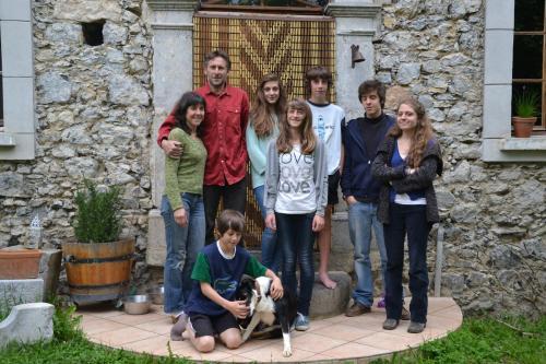 Didier, Sophie et les enfants