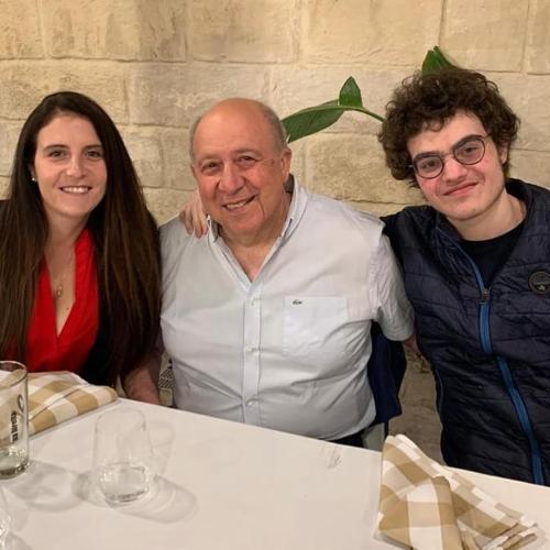 Emma, Massimo e Lorenzo