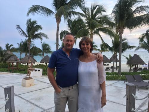 Jonathan and Karen Oldroyd