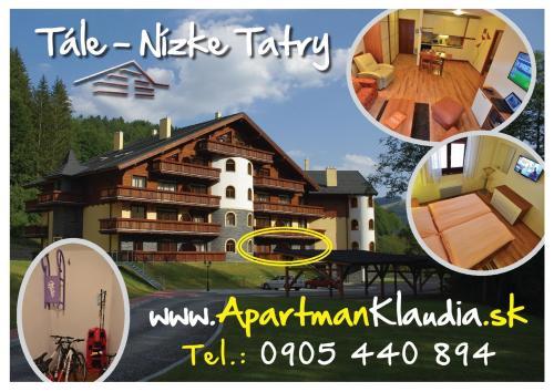 Apartmán KLAUDIA- Tále, Nízke Tatry