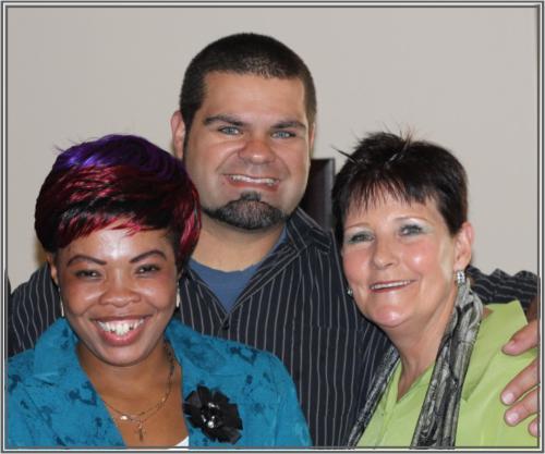Katrina & Doudie with Guest Singer Anton Botha