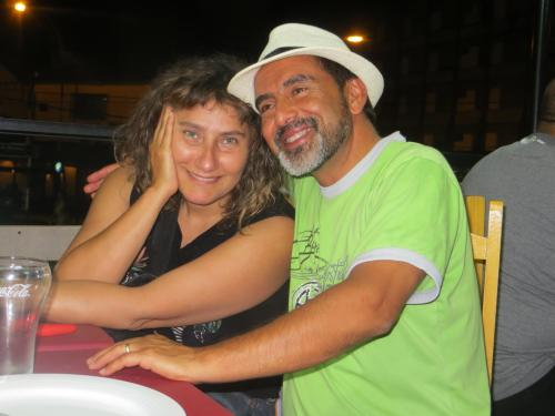 Carlos Reyes y Rocío Nahuel