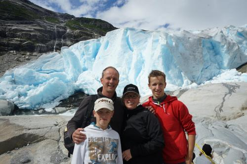Steffen und Familie