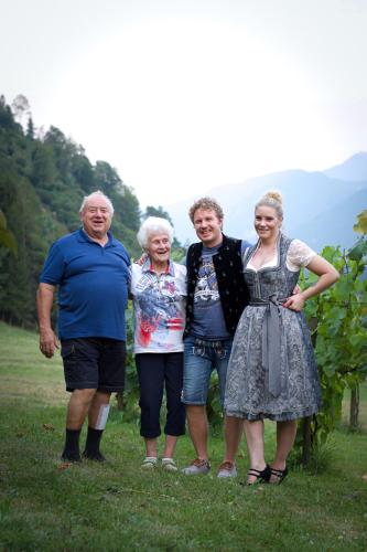 Alois, Waltraud, Peter und Britta