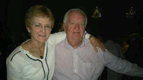 Kathleen and Andrew McNamara