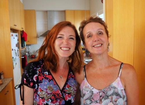 Tara and Meg