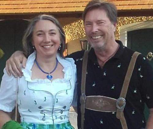 Ihre Gastgeber Silvia Martinek und Wolfgang T. Müller